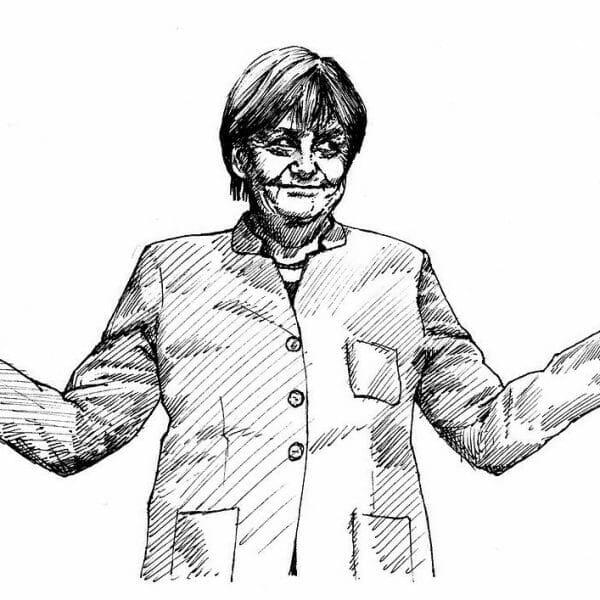 Kanzlerin Merkel bedauert